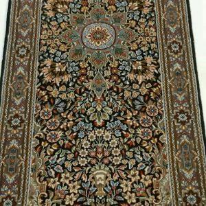 Green persian rug Runner 5621
