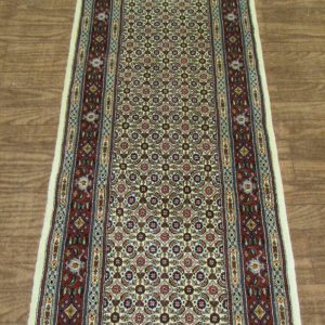 Red persian rug Runner 8340