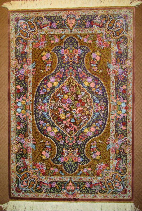 Silk Persian Rug 6048