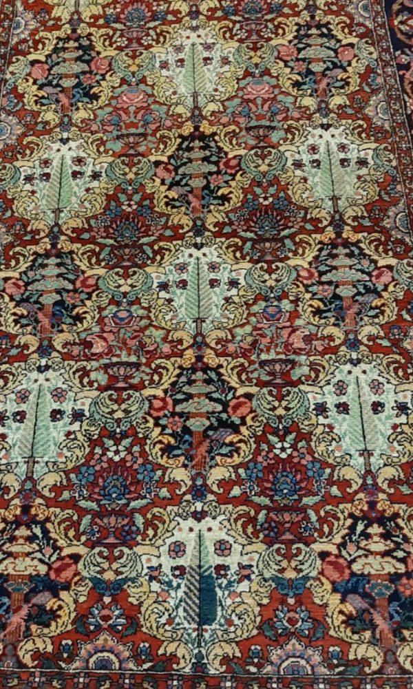 Black persian rug 5724