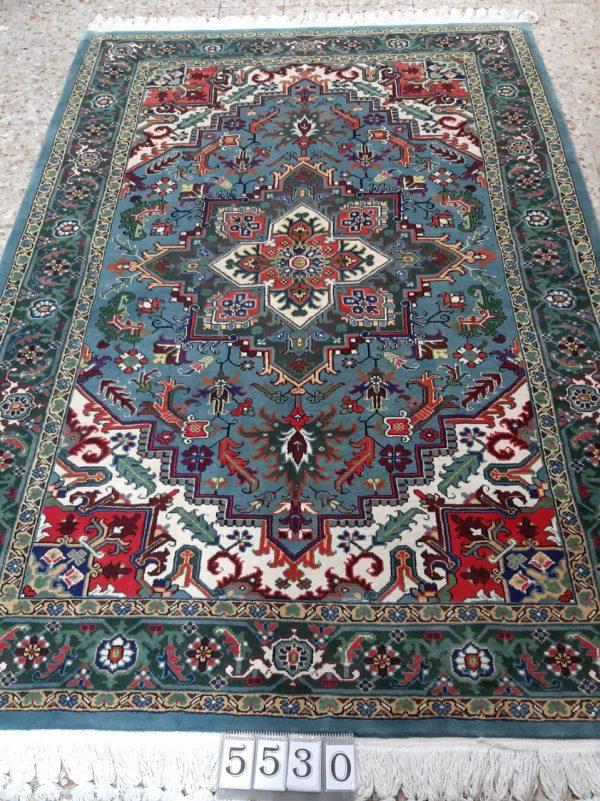 Blue persian rug 5530