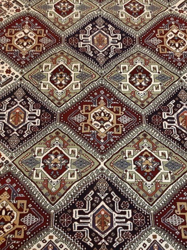 Brown Persian rug 5890