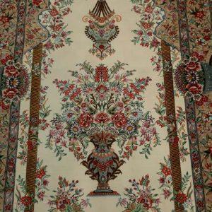 Silk Persian Rug 5929