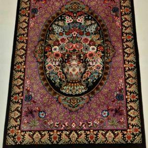 Silk Persian Rug 5942
