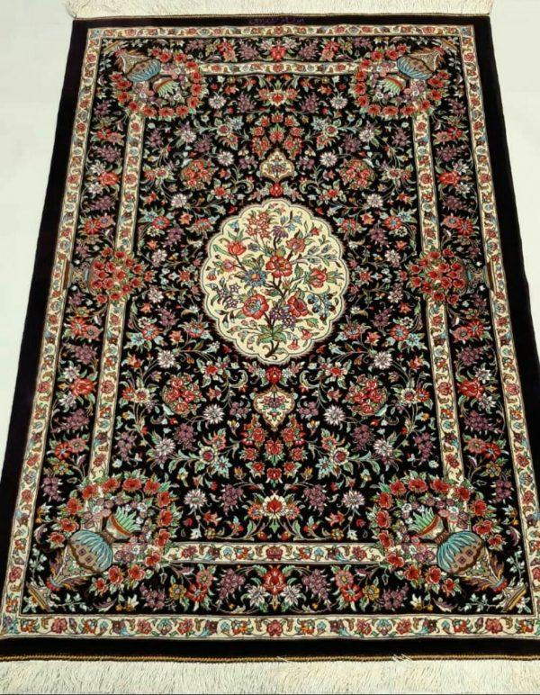 Silk Persian rug 5930