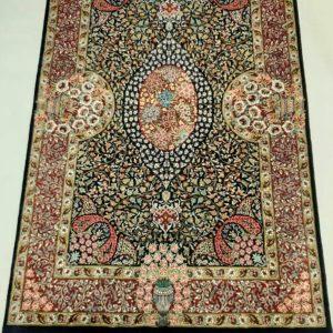 Silk Persian rug 5932