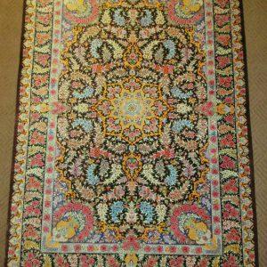 Silk Persian Rug 6045