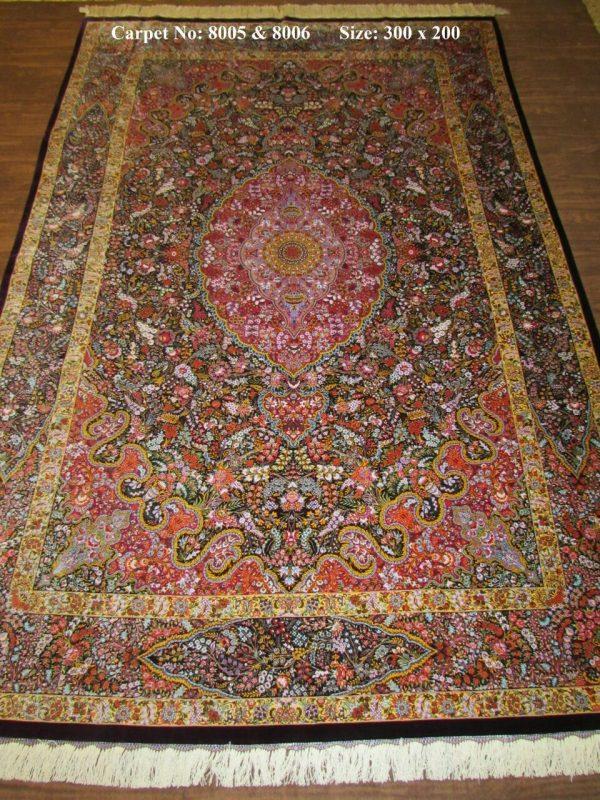 Silk Persian Rug 8005