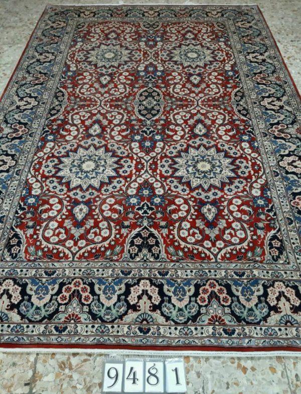 Black Persian Rug 9481