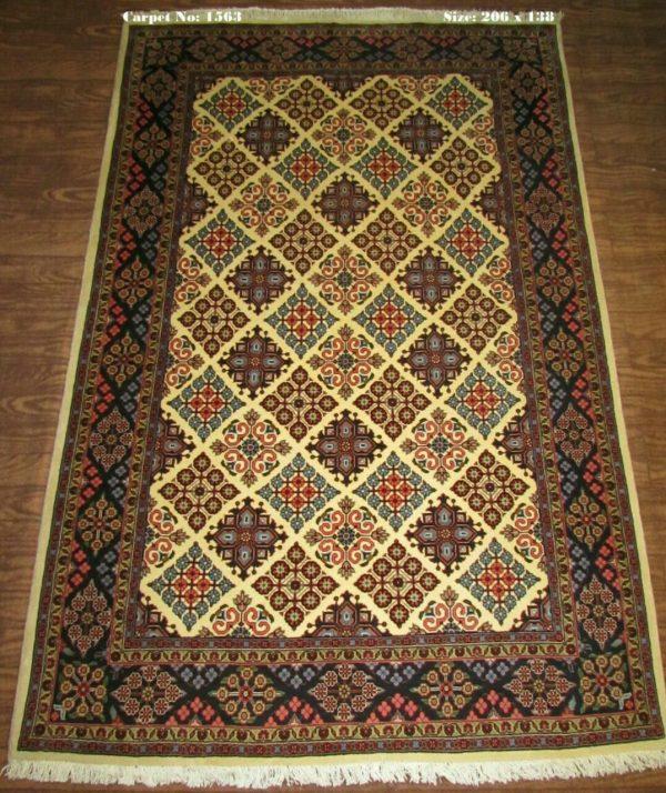 Brown Persian Rug 1563