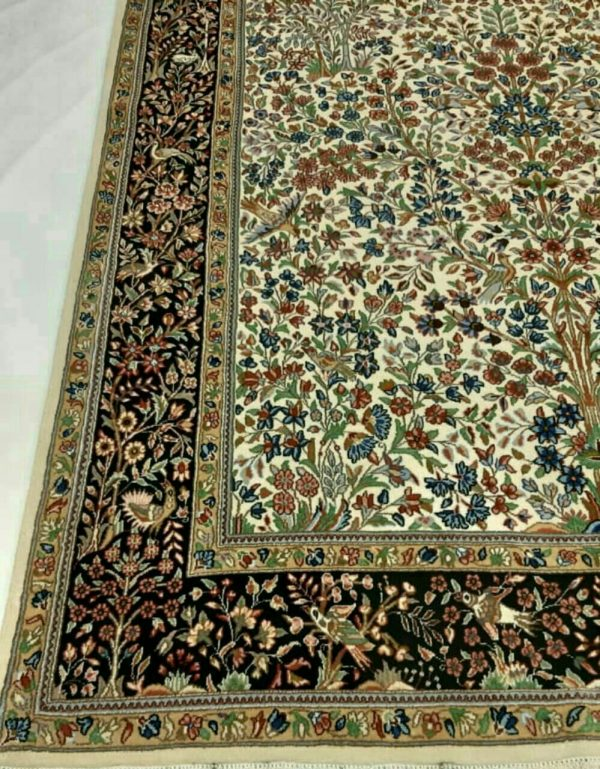 Green Persian Rug 5643