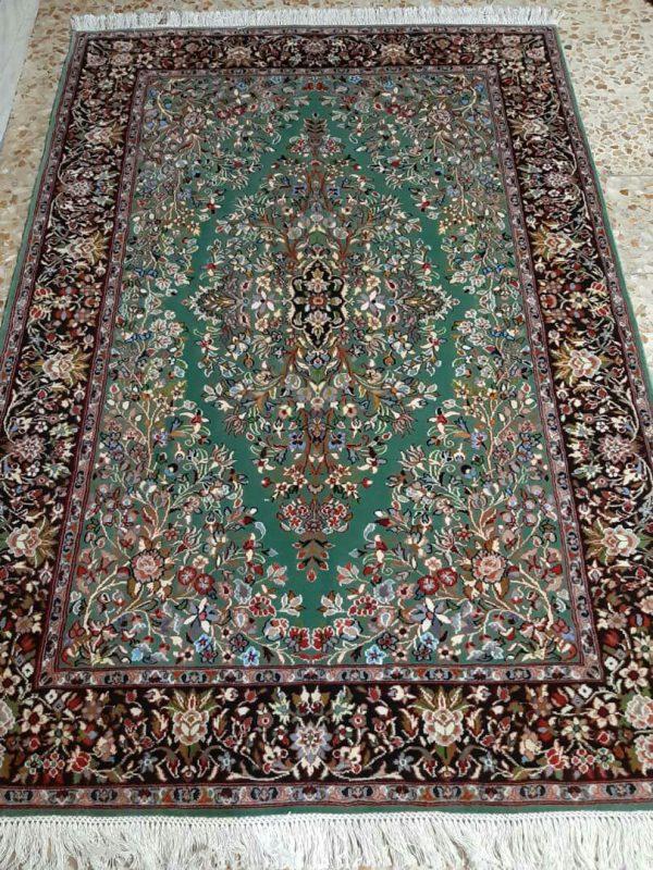 Green Persian Rug 5747