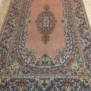 Orange Persian Rug 5749