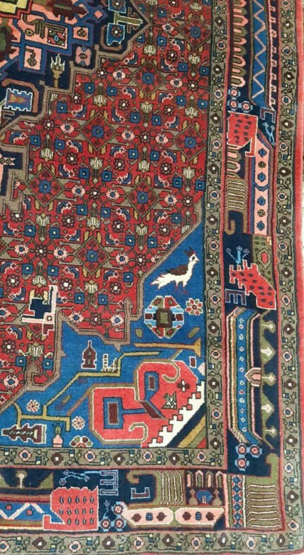 Red Persian Rug 9844