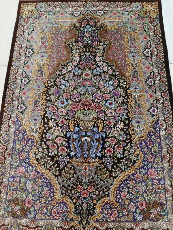 Silk Persian Rug 5938
