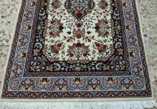 White Persian Rug 5780