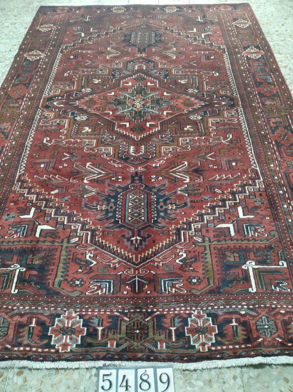 Red Persian Rug 9685