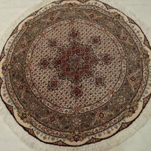 Round Persian Rug 5669