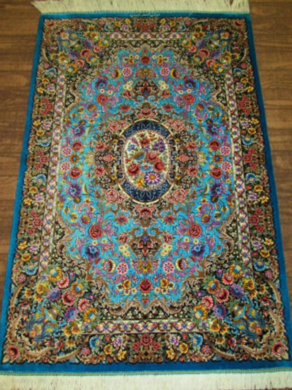 Silk Persian Rug 5979