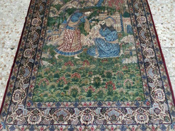 Handmade Persian Rug 9564