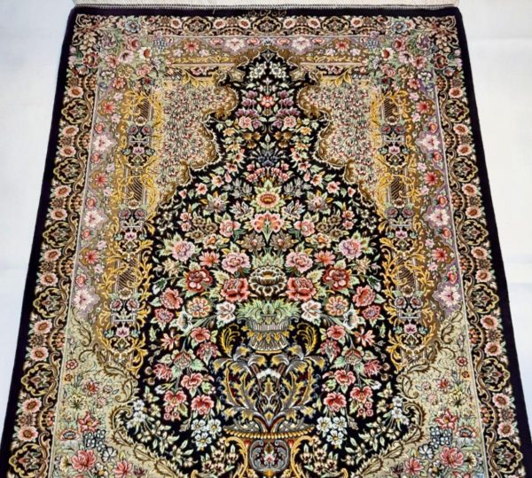 Silk Persian Rug 10529