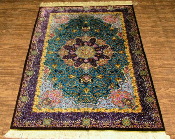 Silk Persian Rug 6314