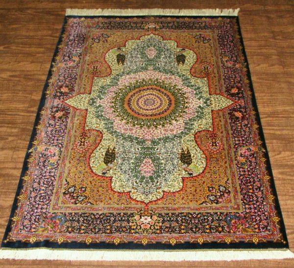 Silk Persian Rug 7794