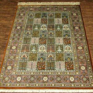Silk Persian Rug 9506