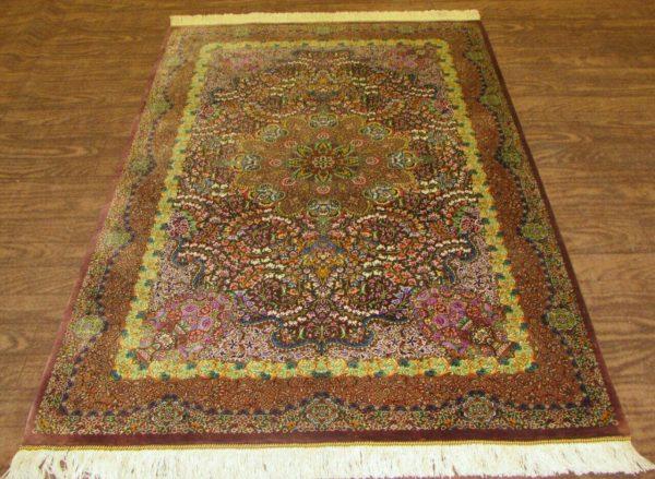 Silk Persian Rug 9511