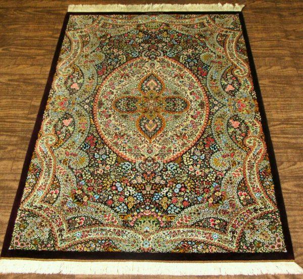 Silk Persian Rug 9512