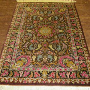Silk Persian Rug 9513