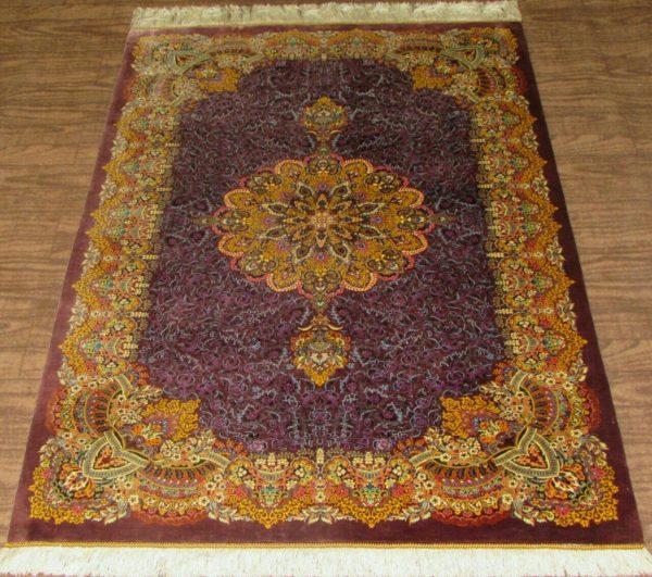 Silk Persian Rug 9518