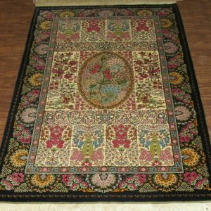 Silk Persian Rug 9519