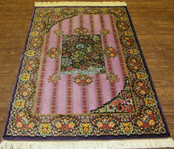 Silk Persian Rug 9521