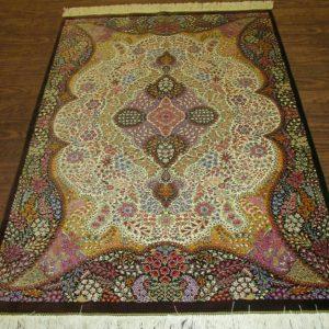 Silk Persian Rug 9523