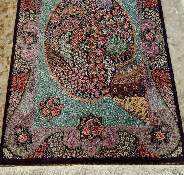 Silk Persian Rug 9226